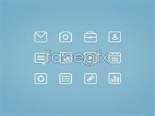 Link toSmartphone software for simple little fresh icon psd