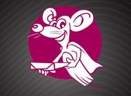 Link toSmiling rat logo vector free