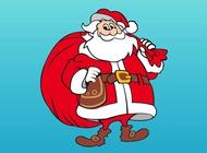 Link toSmiling santa claus vector free