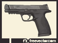 Link toSmith and wesson police gun vector free