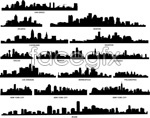 Link toSnap shots of various cities of the world 2 vector