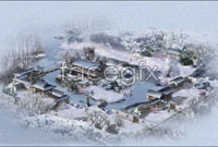 Link toSnow bird's eye view hd picture