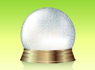 Link toSnow globe graphics vector free