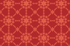 Link toSnow pattern red seamless vector background
