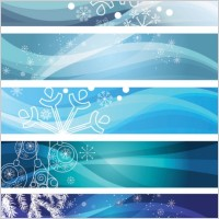 Link toSnowflake background banner vector