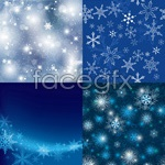 Link toSnowflake background theme vector