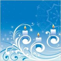 Link toSnowflake candle pattern vector