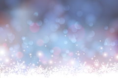 Link toSnowflake halo background vector