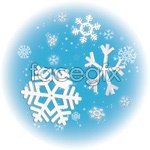 Link toSnowflake ornaments vector effects