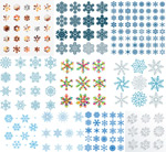Link toSnowflake pattern shading vector