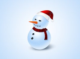 Link toSnowman icon - free psd