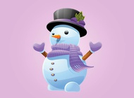 Link toSnowman vector free
