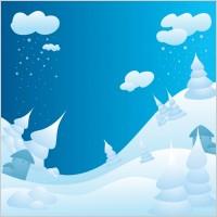 Link toSnowy winter landscape