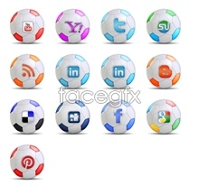 Link toSoccer social media icons
