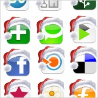 Link toSocial christmas icons icons pack