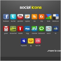 Link toSocial icons pack icons pack