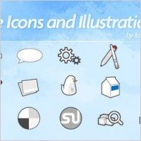 Link toSocial icons vectors