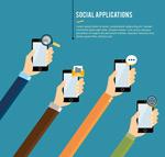 Link toSocial living illustration vector