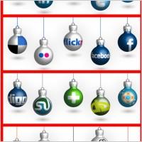Link toSocial media christmas balls