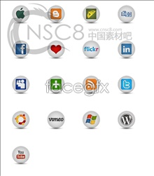 Link toSocial networking company logo icon