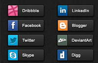 Link toSocial share buttons pack psd