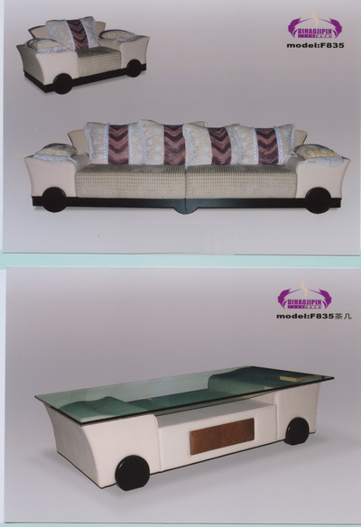 Link toSofa and coffee table refined 3d model of business