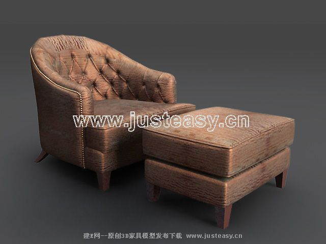 Link toSofa combination of modern chinese 3d model