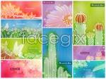 Link toSoft flower in color 2 vector