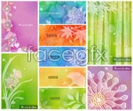 Link toSoft flower in color 3 vector