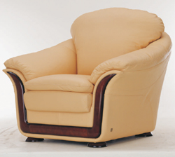 Link toSoft sofa cloth art yellow single 3d models