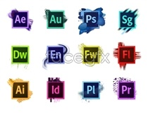Link toSoftware flag desktop icons