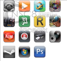 Link toSoftware iphone style icons