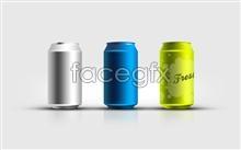 Link toSolid color tins designed templates psd