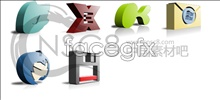 Link toSolid concave software icons