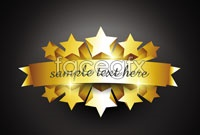 Link toSolid gold badge vector
