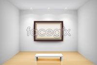Link toSolid space gallery vector