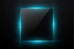 Link toSolid square light effect background vector