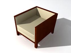Link toSolid wood outer frame cloth art sofa 3d models