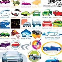 Link toSome graphics on the car icon vector