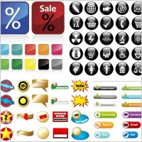 Link toSome useful button icon vector