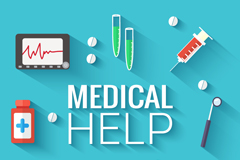 Link toSophisticated medical services icon vector