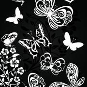 Link toSorts of butterflies clip art vector 02 free