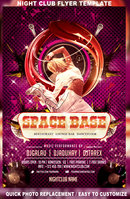 Link toSpace base naight club flyer template