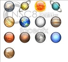 Link toSpace planet icons