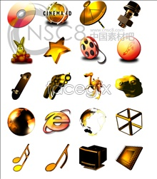 Link toSpace style desktop icons