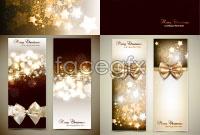 Link toSparkling stars christmas banner background