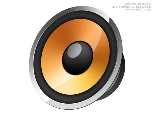Link toSpeaker icon psd