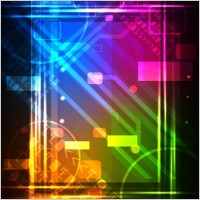 Link toSpecial flashy neon light background 04 vector