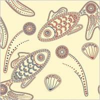 Link toSpecial kind of animal design pattern vector 3