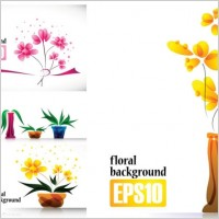 Link toSpecial plant flowers decorations vector